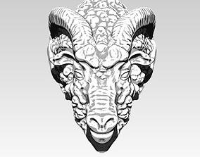 High Detailed Ram Ring 3D printable model