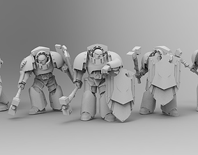 3D printable model Knight of Rome - Destroyers