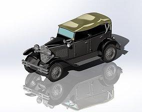 3D print model gaz GAZ-A