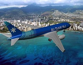 3D Boeing 787-8 Air Tahiti Nui