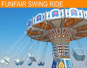 Funfair Ride 3D