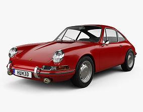 Porsche 911 Coupe Prototyp 901 1962 3D