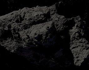 asteroid version 4 high detail 3D model