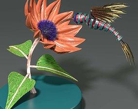 Steampunk Colibri 3D