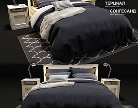 bed IKEA songesand 3D