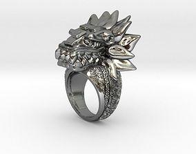 Quetzal Ring 3D printable model