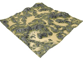 Valley Terrain MTH095 3D
