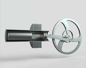 3D asset Stirling Engine