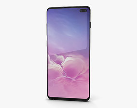 3D Samsung Galaxy S10 Plus Ceramic Black galaxy