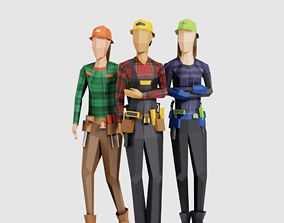 3D model Construction Women