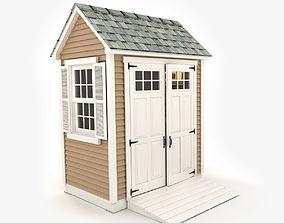 3D Garden shed 03