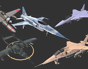3D model Aircrafts Collection2