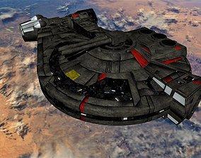 3D model STAR WARS - YT2400 LIGHT FREIGHTER