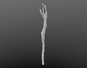 3D Magic Wand High Poly model