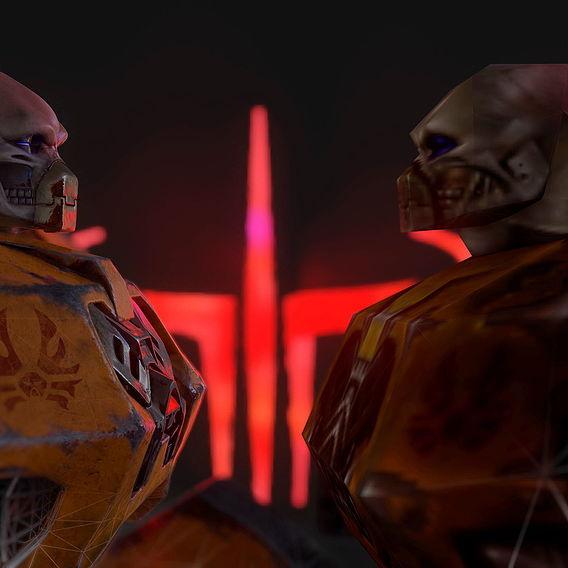 Tankjr remake from Quake 3 Arena