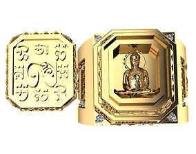 Ancient Khmer Buddhist style 3D printable model