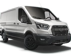 Ford Transit Van L2H1 Trail 2021 3D model