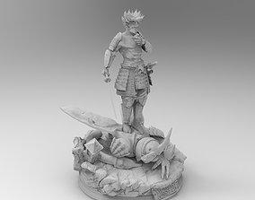 Trunks Samurai Dragon Ball 3D print model