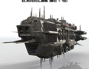 CDF Damocles Battle Cruiser 3D