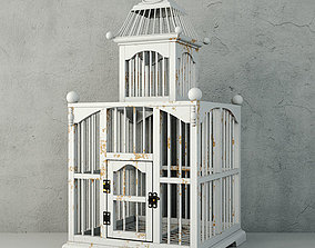 3D White Decorative Cage by ZARA HOME