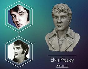Elvis Presley sculpture Ready to Print 3D printable model
