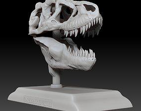 Tarbosaurus Skull 3D Printable Model