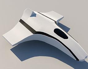 3D model low-poly Aeroplane