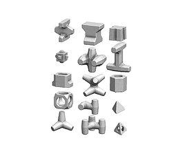 3D print model Anti coastal erosion concrete structures