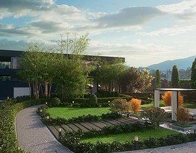 3D model 2021 PBR Landscaping Library