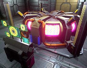 UE4 Sci-Fi Reactor Hangar assets realtime