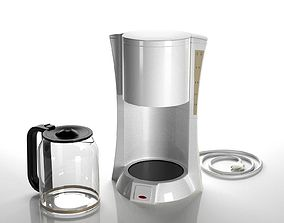 3D model American Coffee Machine