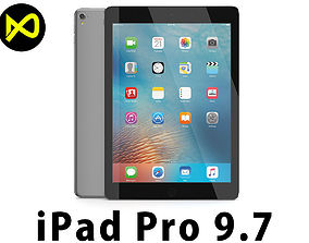 3D model Apple iPad Pro 97 Inch Space Gray
