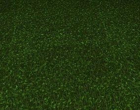 3D model ground grass tile 38