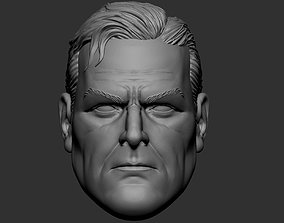 Superman Kingdom Come - Alex Ross - head 3D print model