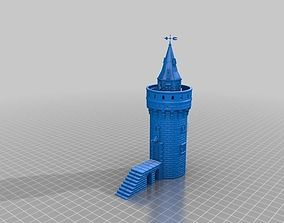 toy Watchtower for wargames - 3D Printable kit