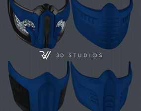 3D printable model MK11 Sub-Zero Mask - Pack 01 - STL