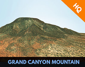 3D model Grand Canyon Mountain Terrain Arizona Landscape