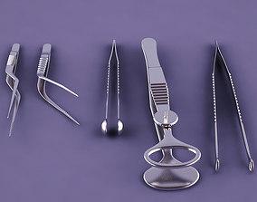 3D model Medical Tweezers