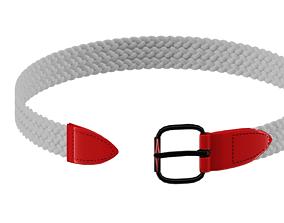 belt braid type 3D model