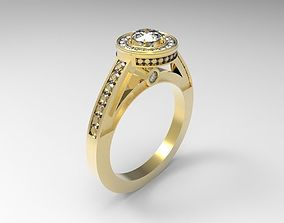 3D print model Ring ladies
