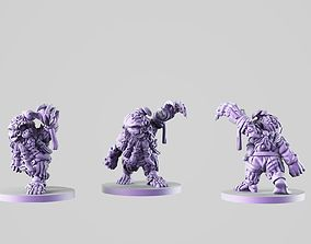 Zombie dwarf 3D printable model