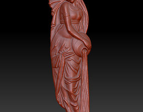 Indian girl 3D printable model