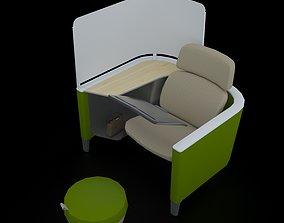 Work Lounge 3D print model