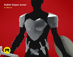 3D print model Goblin Slayer Armor and Weapons knight