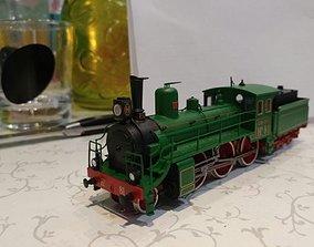 3D printable model N1Russian Steam Locomotive