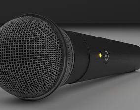 MicroPhone broadcast 3D PBR