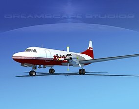 3D model Convair CV-580 DHL