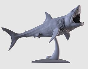 3D printable model White Shark Statue