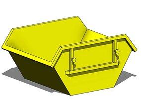 Parametric Skip - Revit Family 3D model