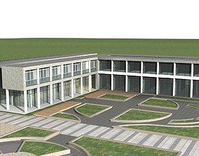 Office Building city-block detail 3D model